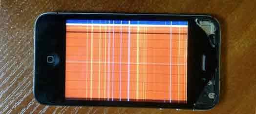 перестал работать экран на iphone 4s