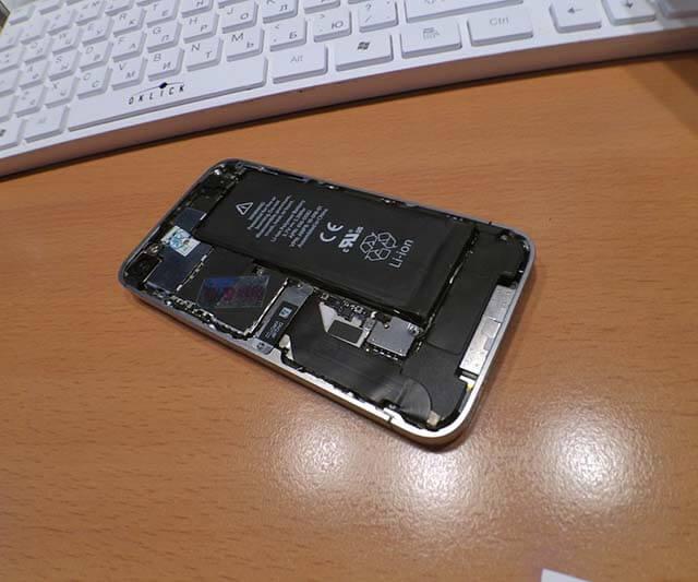 айфон 7 не включается
